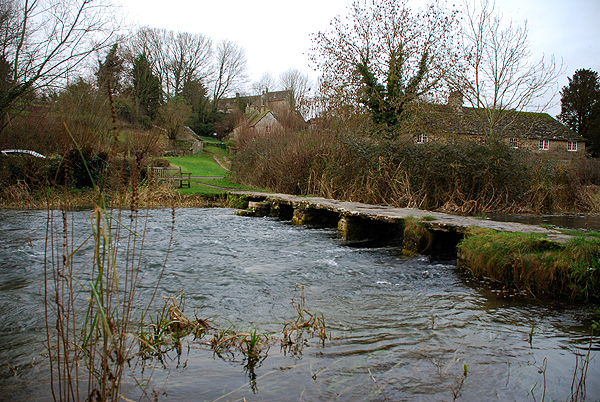 Ford & Clapper Bridge at Eastleach Martin
