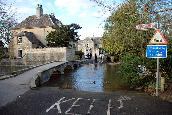 Ford at Bourton-on-the-Water