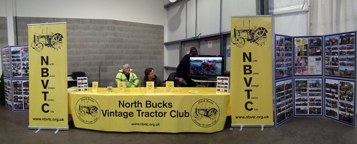 The NBVTC stand at the 2012 Newark Vintage Tractor Show