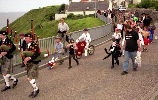Fancy dress parade, Collieston Gala