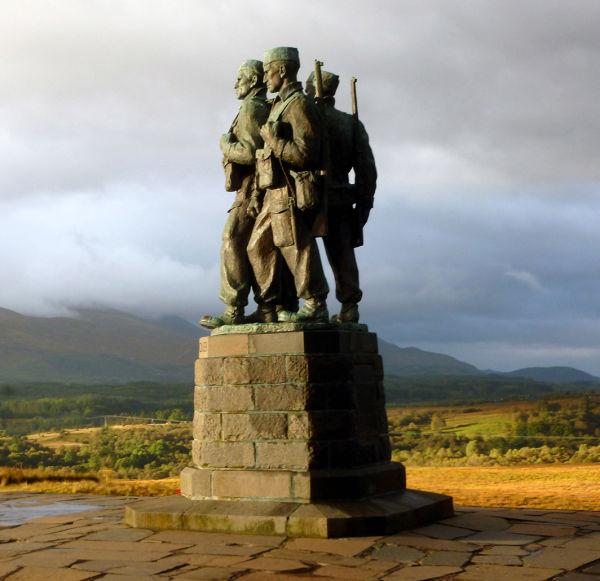 Commando monument, Spean Bridge