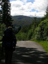 Walking near Gairlochy