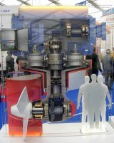 Exhibit on SKF stand
