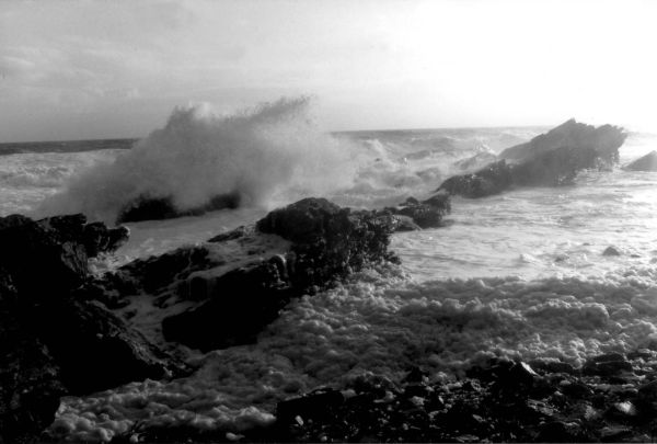Waves and spume, Long Shanks