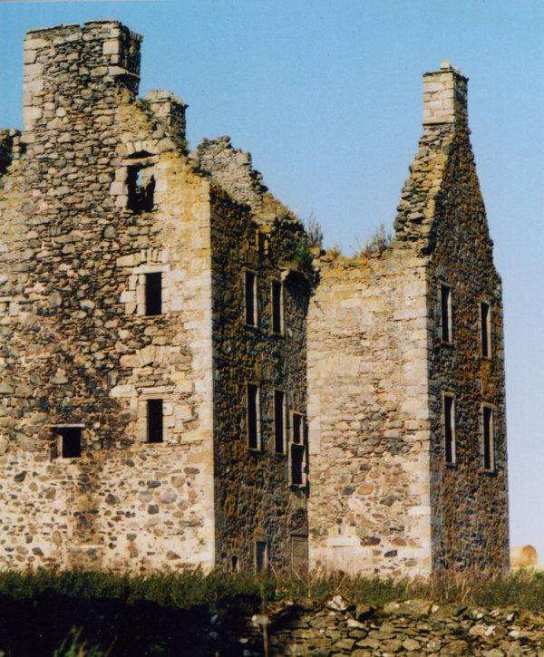 Knockhall Castle, near Newburgh