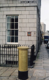 Golden Sq. postbox