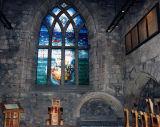 Piper Alpha window, St Nicholas Kirk
