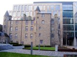 Provost Skene's House dwarfed to rear by Muse development