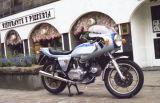 Gary Ross's Ducati, Little Belmont Street, Aberdeen 1983