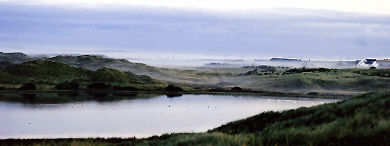 Sand Loch in the mist