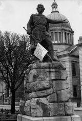 Wallace statue, Schoolhill, Aberdeen