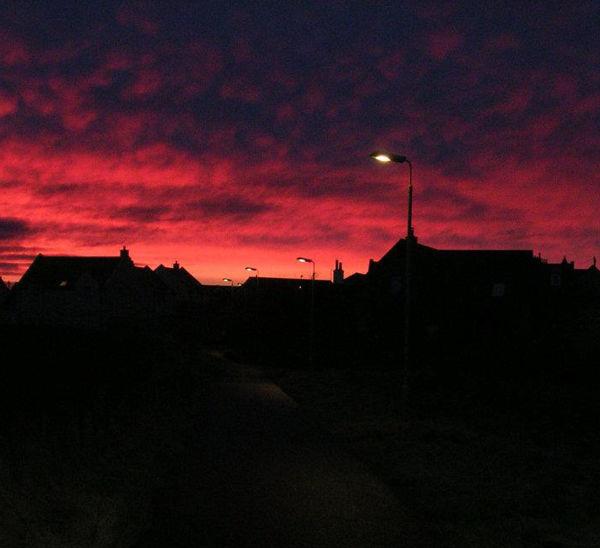 Stormy sunrise, Hightown