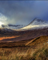 1st Place Black Mountains Rannoch Moor by Peter Lucas