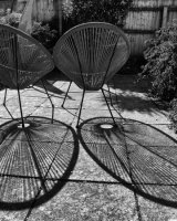 1st Place Shadows on the Patio by Christine Walters