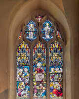 2. Windows St Mary Sermon on the Mount Clive Pearson Third