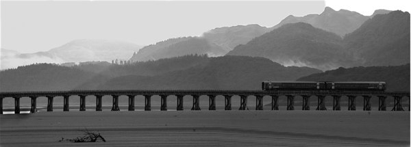 2nd Place Barmouth Viaduct by Derek Walker
