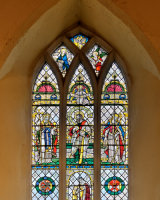 3. Windows St Mary Topham Clive Pearson Third