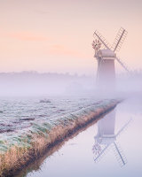 3rd Place Cold Dawn at Hornsey Windpump by Bill Allsopp