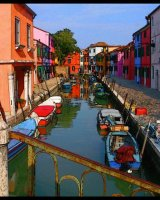 A Street in Burano Arthur Beyless Highly Commended