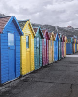 Beach Huts on Parade Kelvin Townsend Commended