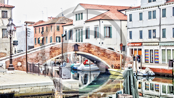 Canal-side,Chioggia
