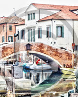 Canal-side,Chioggia