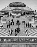 Christmas on Cromer Pier First Clive Pearson