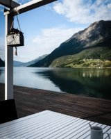 Coffee on the fiord