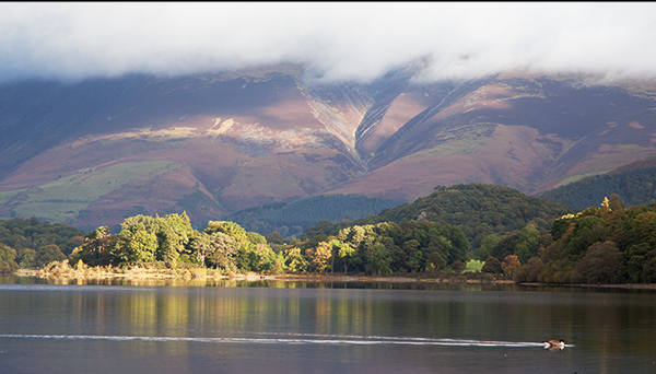 Commended Derwent Water by Peter Lucas