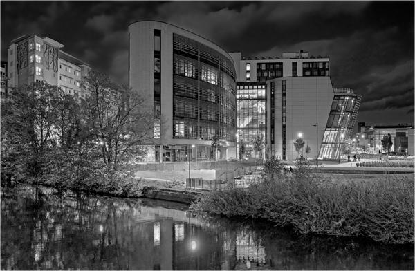 De Montfort University Night First Clive Pearson