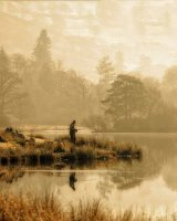 Fishing at Rydal Water