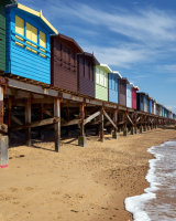 Frinton Beach Huts Commended Clive Pearson