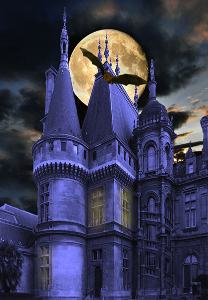 Full Moon at the Towers Highly Commended John Bollands