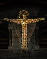 Golden Crucifix Stephen March Commended
