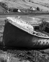 HC Neglected Boat by Peter Lucas