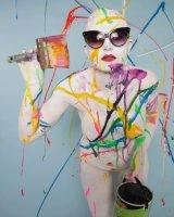 HC Paint Splash with Laura by Jim Gregan