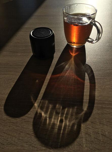 Joint 2nd Black tea and speaker by Bill Allsopp