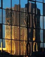London Reflections by Susan Cordiner. Commended