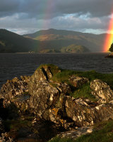 Mawddach Estuary Rainbow Commended Derek Walker