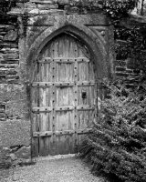 Old Doorway Second Christine Walters