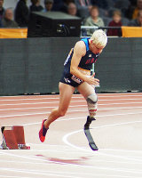 Paralympics competitor