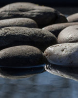 Pebbles in the water First Arthur Beyless
