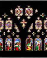 Stained Glass Mosaic Peter Watson Commended