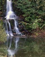 Waterfall Stourhead Stuart Evans Commended