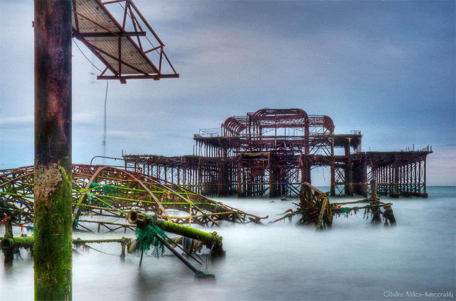 Broken Pier, Brighton, UK