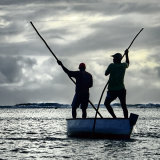 FishermenPêcheurs Rodrigues, Ile Maurice