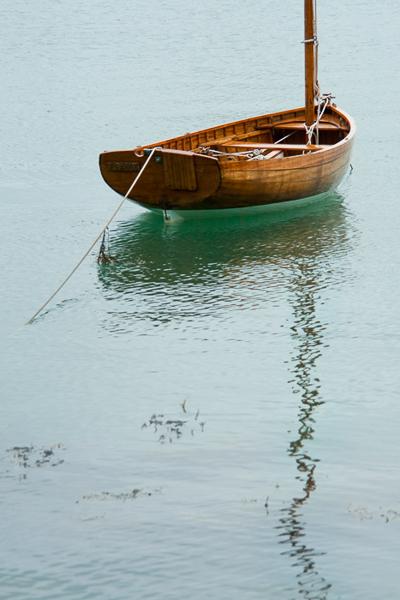 La barque <em>The boat,</em> Pen Castel, France