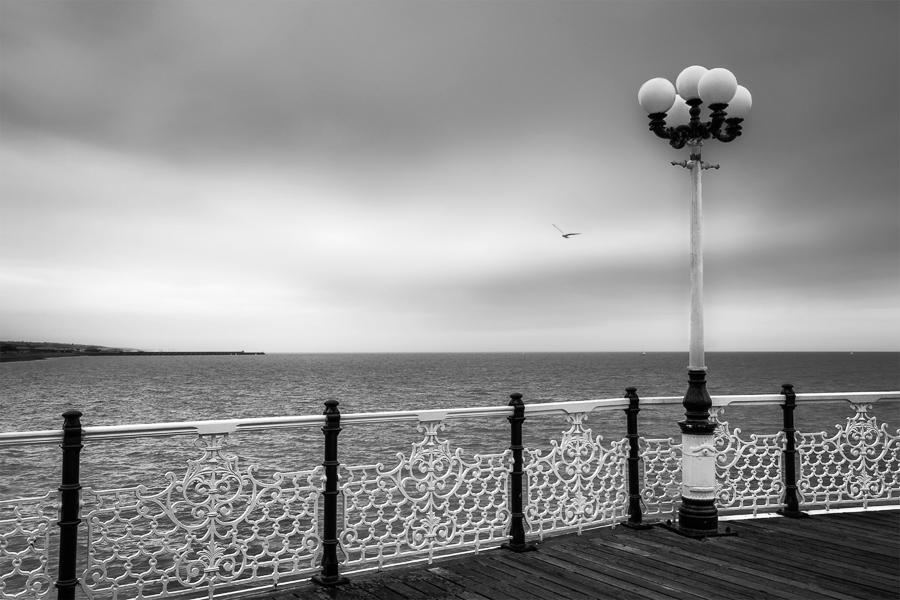 Brighton sea, Angleterre