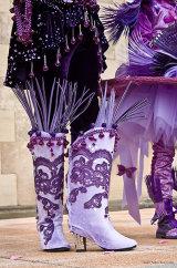 Les bottes des améthistes