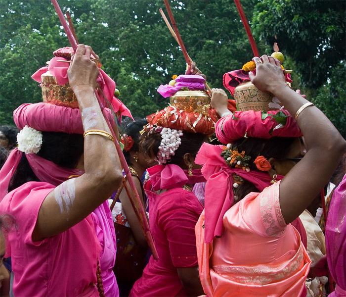 Women in procession